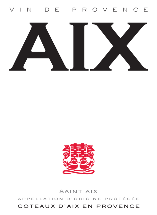 AIX Rosé Label NV