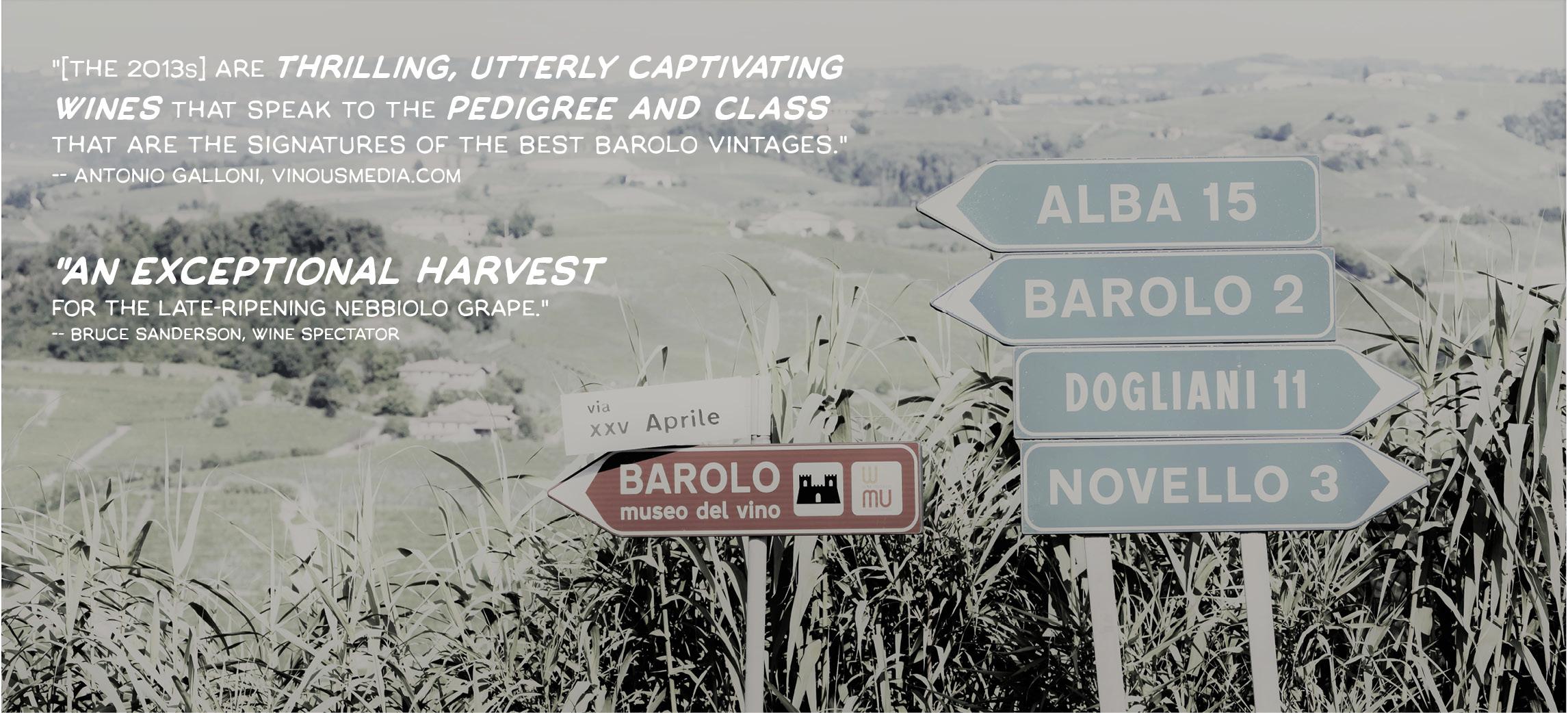 Page Splash Title - Barolo 2013 - Massanois