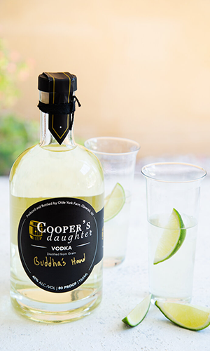 Cooper's Daughters Buddha's Hand Vodka