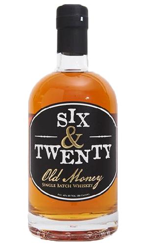Six & Twenty Old Money Whiskey